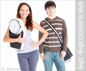Taille et poids par l'ossature chez les adultes